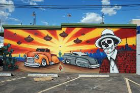 jb snyder glenrosa journeys this is on calle 16 one of the hotspots for murals behind next to and close to barrio cafe a great mexican restaurant the owner of which was the