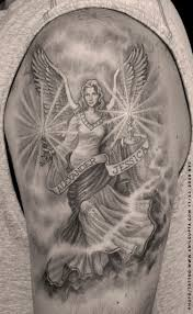 half sleeve angel tattoo for men in 2017 real photo pictures