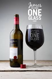 glass of wine buy a personalised just one glass giant wine glass
