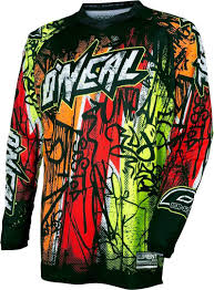 monster energy motocross jersey oneal ropa oneal o neal element vandal jersey motocross camisetas