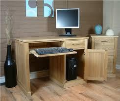 Oak Veneer Computer Desk Oak Computer Desk Hutch Home Design Ideas Oak Computer Desk