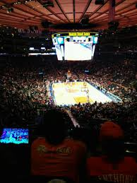 madison square garden section 217 home of new york rangers new