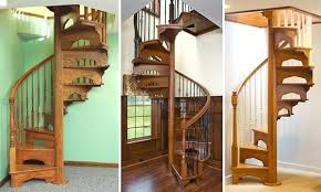 Stair Banister Kits Spiral Wooden Staircase U2013 Smartonlinewebsites Com