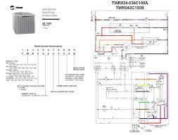 trane heat pump wiring throughout diagram gooddy org