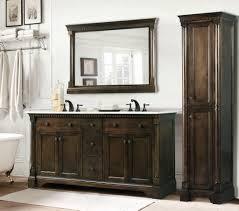 fair decorating ideas using refurbished bathroom vanities