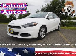 dodge dart years 2015 dodge dart sxt for sale in baltimore md from patriot auto sales