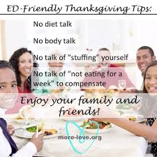 more how to make thanksgiving disorder friendly