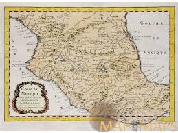 Old Mexico Map carte du mexique nicolas bellin old map mexico 1764 m u0026m