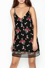 honey punch floral embroidered dress from new york city by dor l