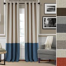 living room curtain panels decorating braiden room darkening grommet curtain panels design