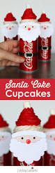 santa cupcakes cute christmas food recipe idea