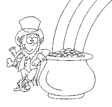 leprechaun coloring page fablesfromthefriends com