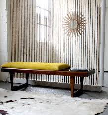 Contemporary Upholstered Bench How To Thrifted Table To A Modern Upholstered Bench Apartment