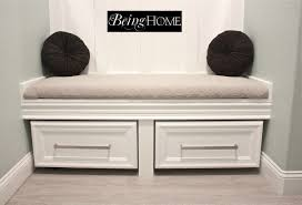 Small Bedroom Bench Storage Bench Ikea Hack For The Home Pinterest Diy Using Ikea