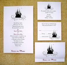 Custom Wedding Programs Disney Castle Wedding Invitations 293