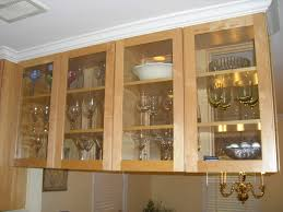 glass cabinets in kitchen to wire light to a glass kitchen cabinet doors