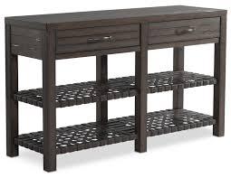 Oak Sofa Table by Brewer Sofa Table Dark Oak Value City Furniture