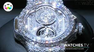 golden ferrari with diamonds hublot goes full diamond youtube