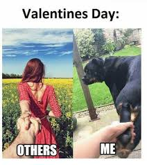 Me On Valentines Day Meme - valentines day others me valentine s day meme on me me