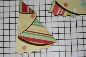 sunday folded semi circle christmas tree card tutorial