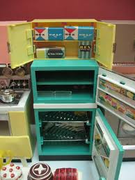 vintage 1960 u0027s deluxe reading barbie doll dream kitchen set doll