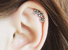 heart cartilage earring 54 earrings cartilage 15 cartilage earring designs ideas design