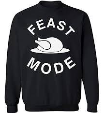 pekatees feast mode sweatshirt thanksgiving sweatshirt