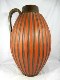 vintage drip glaze l fat lava vase fohr drip glaze west german pottery wgp retro vintage