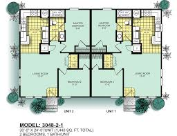 duplex house plans with garage in the middle modular duplexes oak creek homes