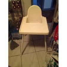 chaise haute b b occasion chaise bebe ikea pas cher ou d occasion sur priceminister rakuten