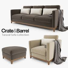 crate and barrel 3d models turbosquid com