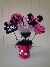 Centerpieces For Minnie Mouse Party by Minnie Mouse Birthday Centerpiece By Eryacah On Etsy 10 00
