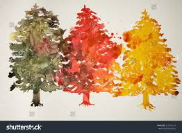 colored trees artificial colored trees 4ft