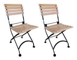 European Bistro Chair Buy Bistro Chair Folding With European Chesnut Wood Slats