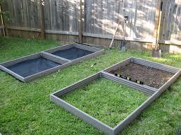 square raised garden beds gardening ideas