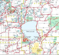 map mn lake mille lacs maps minnesota fishing mn resorts