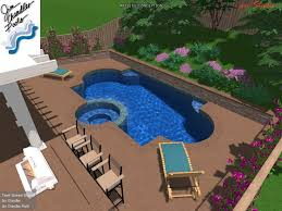 Backyard Designs With Pool 21 Best Dream 3 D Pool Designs Images On Pinterest Swimming Pool