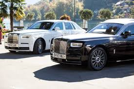 roll royce garage the newest rolls royce phantom is the most luxurious car ever
