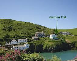 Port Isaac England Map by Northcliffe Garden Flat Self Catering Holiday Cottage In Port