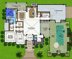 Mediterranean Style House Plans by Mediterranean Style House Plan 4 Beds 4 50 Baths 6838 Sq Ft Plan