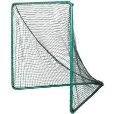 green goal backyard lacrosse goal with green net by foldfast goals