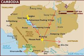 Map Of Cambodia Cambodia Bigclimblittleclimb
