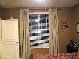 western window curtains