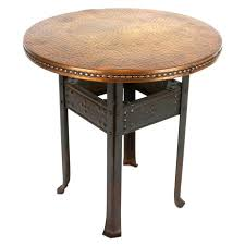 Wire Side Table Coffee Table Round Copper Coffee Table Top End Tables Solid Wood