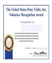 samples certificate certificate of appreciation 02 30 free
