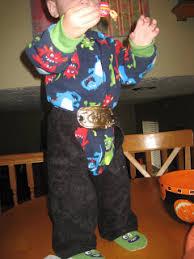 Diaper Halloween Costume Cowboy Chaps