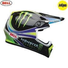 monster motocross helmets 2018 bell mx 9 mips helmet monster energy pro circuit replica 18 0