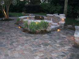 Paver Patio Designs With Fire Pit Stone Patio With Fire Pit U2013 Jackiewalker Me