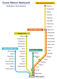 Metro Train Map File Tranz Metro Network Map Png Wikimedia Commons