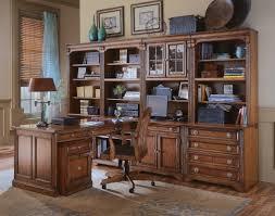 L Desk With Hutch Hooker Furniture Brookhaven Modular L Shape Desk Office Suite